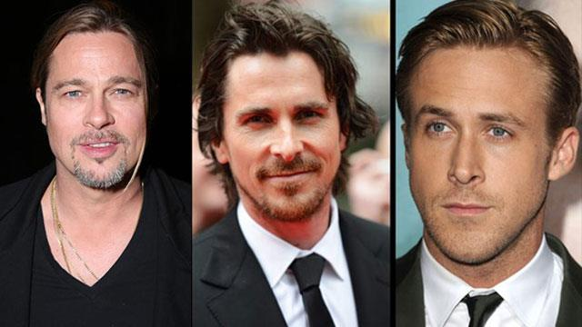 Brad Pitt Christian Bale and Ryan Gosling The Big Short: Inside the Doomsday Machine
