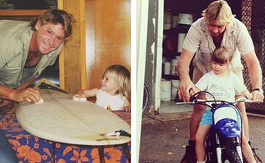 Bindi Irwin's Retro Photos