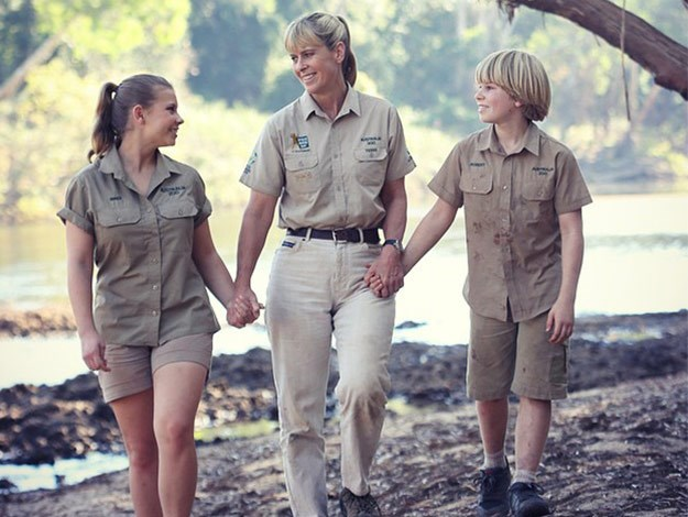 Bindi Irwin, mum Terri and her brother Bob have come a long way since Steve's death in 2006.