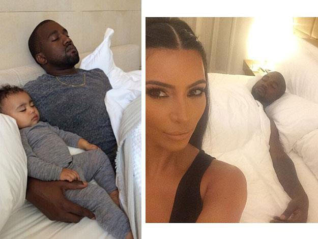 Kim also insisted on crisp, clean white silk sheets, changed daily, for her and her family.