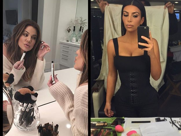"""Kim had eyelashes everywhere,"" complains another. ""Makeup splattered all over the dressers and bathroom counters…"""