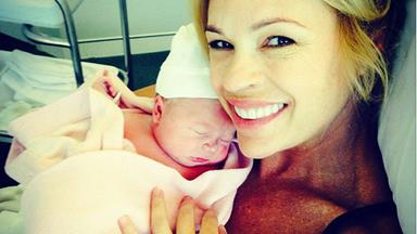 Sonia Kruger welcomes beautiful baby girl!