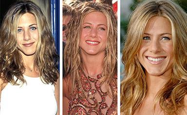 Jennifer Aniston's incredible hair evolution