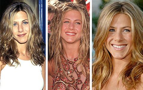 Jennifer Aniston's Hair Styles