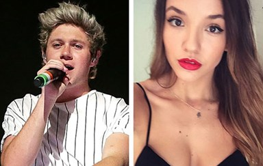 Niall Horan of One Direction bags an Aussie squeeze