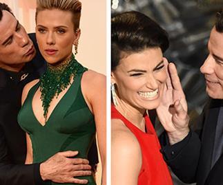 John Travolta's awkward moments at the Oscars