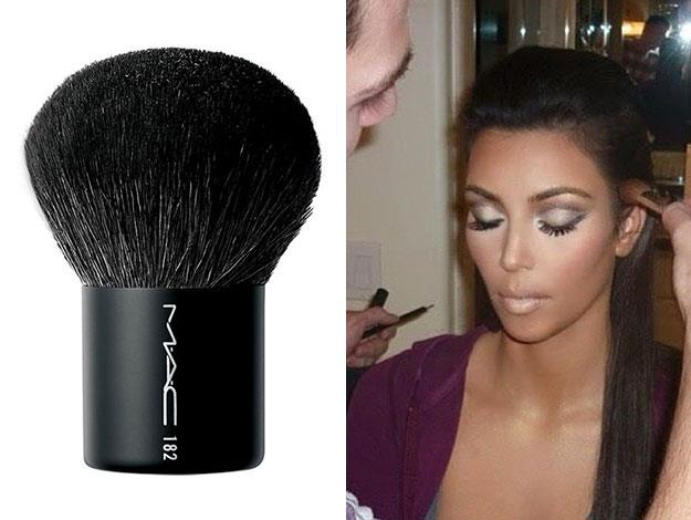 "182 Buffer Brush - [$88 from MAC](http://www.maccosmetics.com.au/product/146/1344/Products/Brushes/Face/182-Buffer-Brush/index.tmpl). ""I obviously love it when I get my makeup done, but I'm pretty good at doing it myself. If you were to look at my makeup bag right now, it has (this)"""