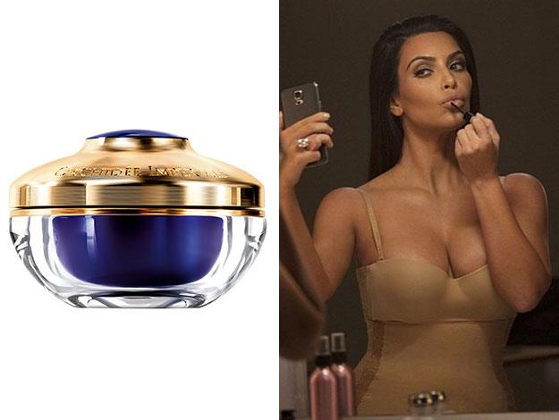 "Guerlain Orchidée Impériale The Rich Cream - [$542 at David Jones](http://shop.davidjones.com.au/djs/ProductDisplay?urlRequestType=Base&catalogId=10051&categoryId=26553&productId=14158&errorViewName=ProductDisplayErrorView&urlLangId=-1&langId=-1&top_category=26553&parent_category_rn=&storeId=10051) - ""because I love the scent and the rich creaminess. My skin is more on the dry side, so I need a really thick moisturizer all the time."""
