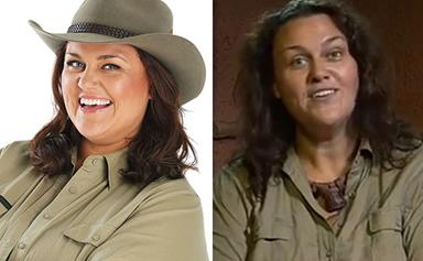 Chrissie Swan's jungle weight loss