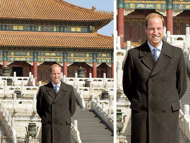 Prince William loved his visit to China's Forbidden City. The usually bustling tourist spot was cleared for the royal visit.