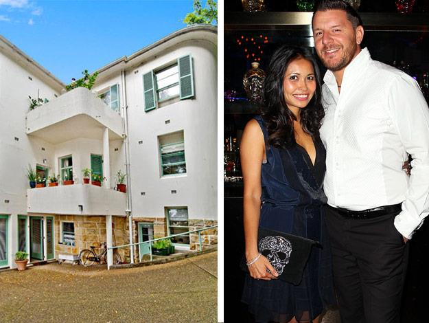 We take a look inside Manu Feildel's Edgecliff home. The 'My Kitchen Rules' judge and fiancée Clarissa Weerasena recently welcomed a new addition to the family, their baby girl!