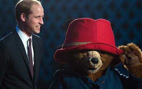 Prince William meets Paddington Bear in China
