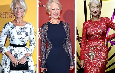 Helen Mirren's stunning timeless style