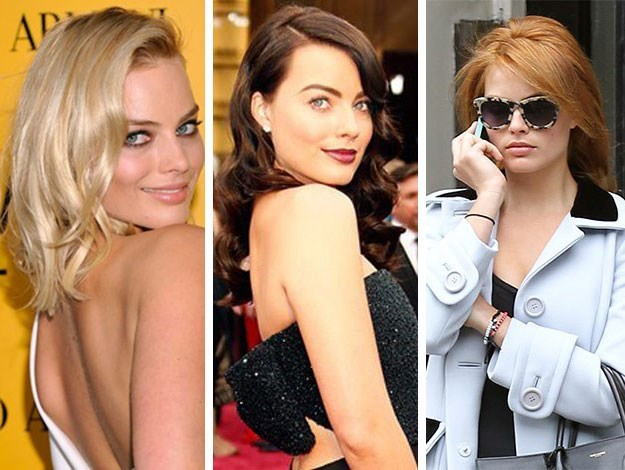 Margot Robbie's gone for multiple dramatic colour transformations this year – effortlessly transitioning from blonde to a dark shade of chestnut to her current cropped redhead look.