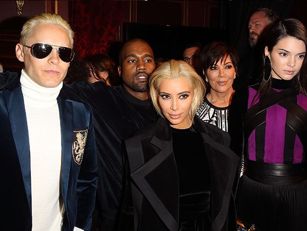 But she's not the only one! Jared Leto has also died his hair platinum blonde after cutting it recently.