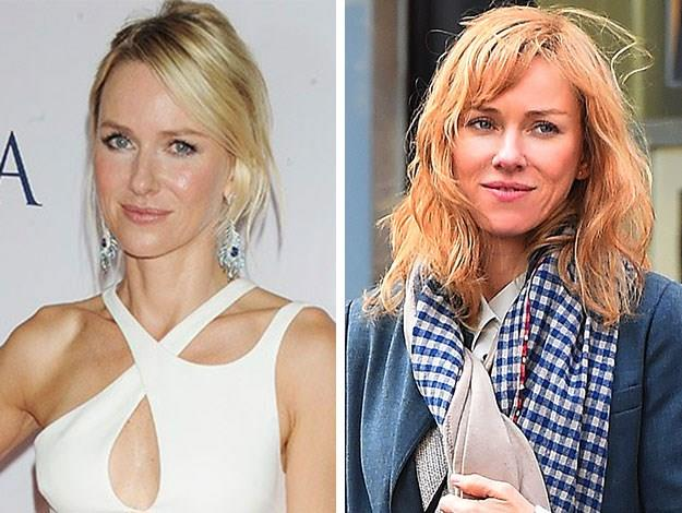 Naomi Watts was recently spotted out and about sporting an all new ginger look.