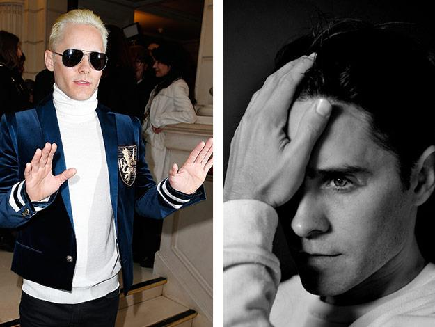 Jared Leto shows off his new cut and colour!