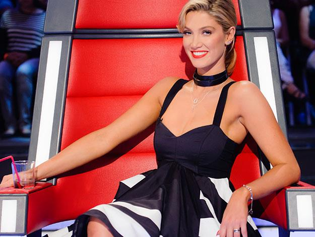Delta Goodrem Collapses On The Set Of The Voice
