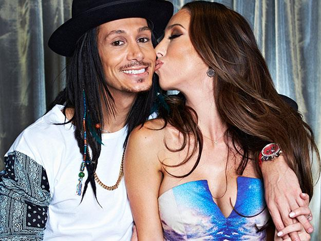 """""""When I met Priscilla, my career took off. So she's my lucky star,"""" Cosentino said of his adoring girlfriend who first came on board as his assistant before he shot to fame on Australia's Got Talent."""