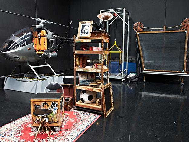 The illusionist's Melbourne home features a vast array of collectibles that form a shrine to the greats of magic and escapology.