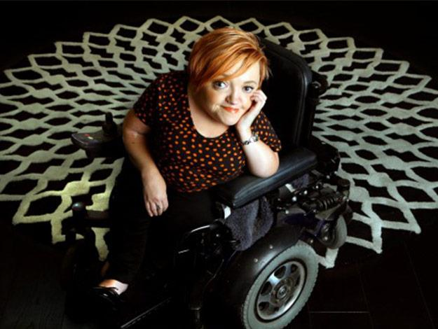 "Stella Young was a comedian and disability advocate that passed away in December 2014. Stella was born with a bone condition known as osteogenesis imperfecta, which she often described simply as ""having really dodgy bones"". She defied expectations and created a new voice for people with disabilities. Her amazing work was renown and she'll be very missed."