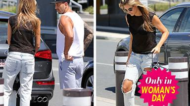 Laura Dundovic spotted with new beau Quade Cooper