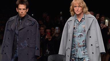 Ben Stiller and Owen Wilson unveil their Zoolander alter-egos at Paris fashion week