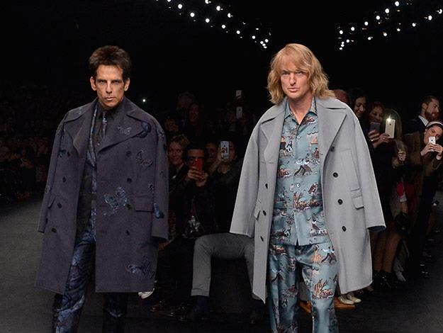 The one-time rival models Derek Zoolander and Hansel reunite on the Paris Fashion week catwalk.