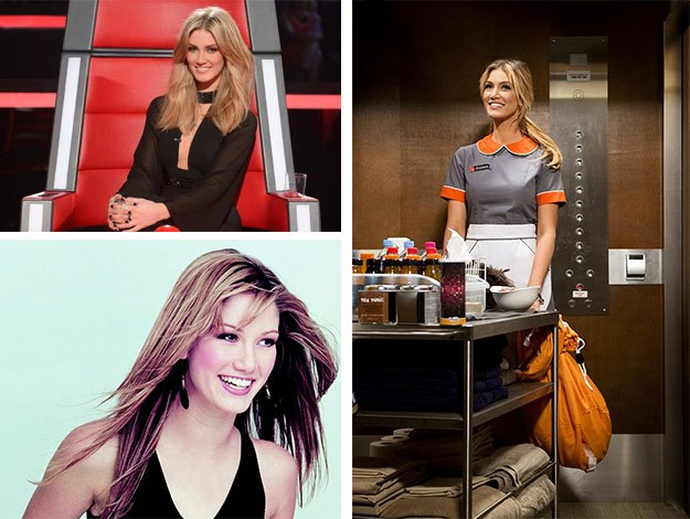 She was born to try, the 00's answer to Kylie Minogue – Delta Goodrem! One of Australia's biggest popstars and judge on the Voice, Delta had a humble beginning as Nina Tucker. The singer is returning to the show in honour of the anniversary!