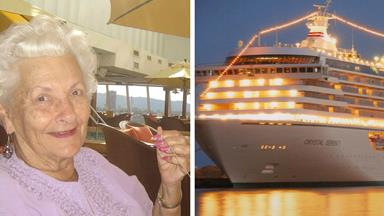 86 year-old retiree lives out days on cruise ship!