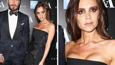 Victoria Beckham's makeup fail