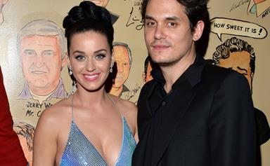 Katy Perry cosies up to John Mayer after Super Bowl performance