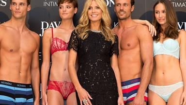Heidi Klum goes local in Australia