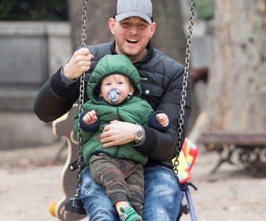 Michael Buble's adorable dance party with his son