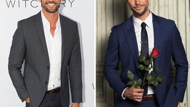 Tim Robards gives the new Bachelor the thumbs up