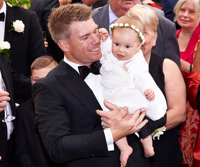 """Ivy was just seven months old when she watched her mum and dad say """"I do."""""""