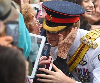 Meet the Aussie Grandma who got to kiss Prince Harry!