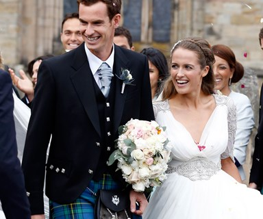 Tennis star Andy Murray marries Kim Sears!