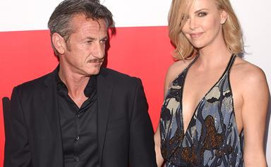 """I'm a very lucky girl!"" Charlize Theron gushes about Sean Penn"