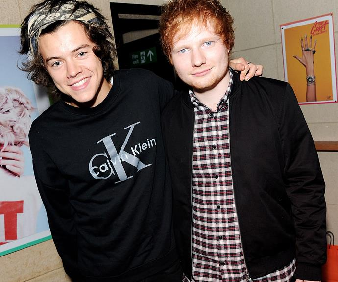 Ed Sheeran Dishes The Dirt On Harry Styles