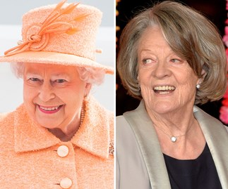 Dame Maggie Smith's dinner date with the Queen