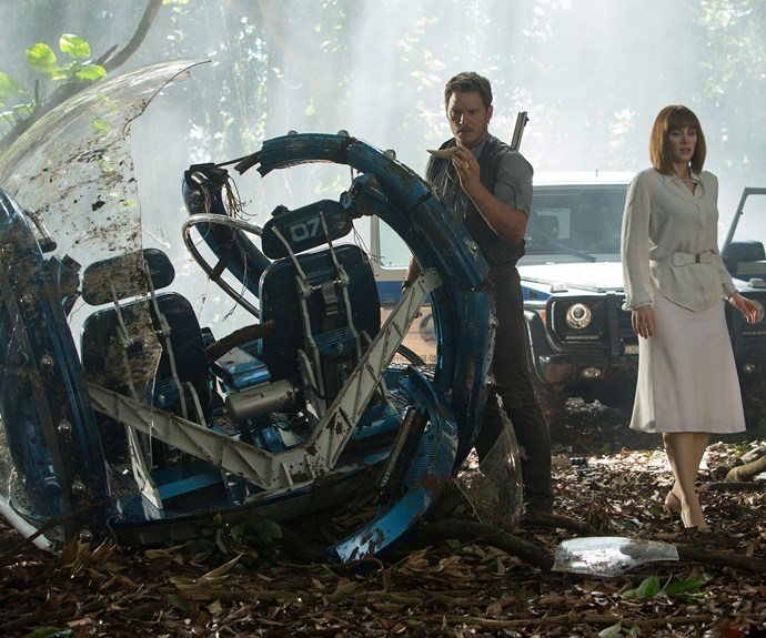 Jurassic World sneak peek!