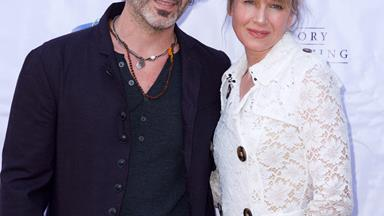 """Isn't he cute?"" Renee Zellweger gushes over boyfriend Doyle Bramhall"