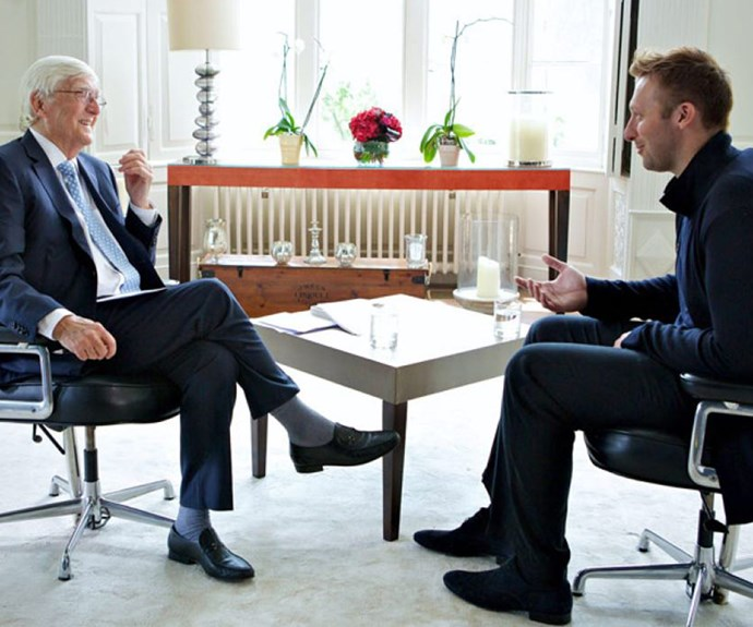 """""""Who gives a toss?"""" Sir Michael Parkinson reveals what he told Ian Thorpe before he came out"""