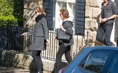 Nicole Kidman and Keith Urban rush back to Oz following Angus Hawley's death