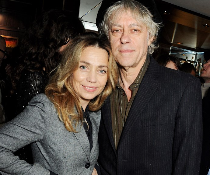 Last April, Peaches' father Bob Geldof married his partner of 19 years Jeanne Marine.