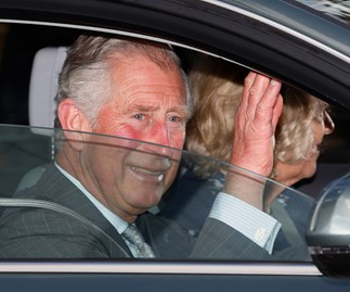 Meet the family! Charles, Camilla and The Middletons visit the new princess at Kensington Palace