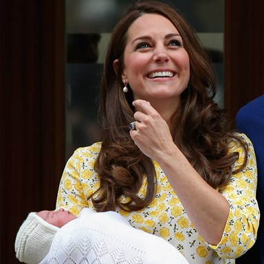 10 hours after giving birth, how did the Duchess look THI$ GOOD?