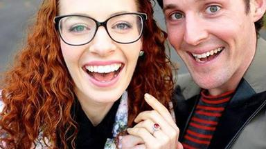 Big red love! Wiggles stars Emma and Lachy are engaged
