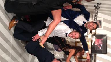 Stars have a blast in the Instagram Gravity booth at the Logies!